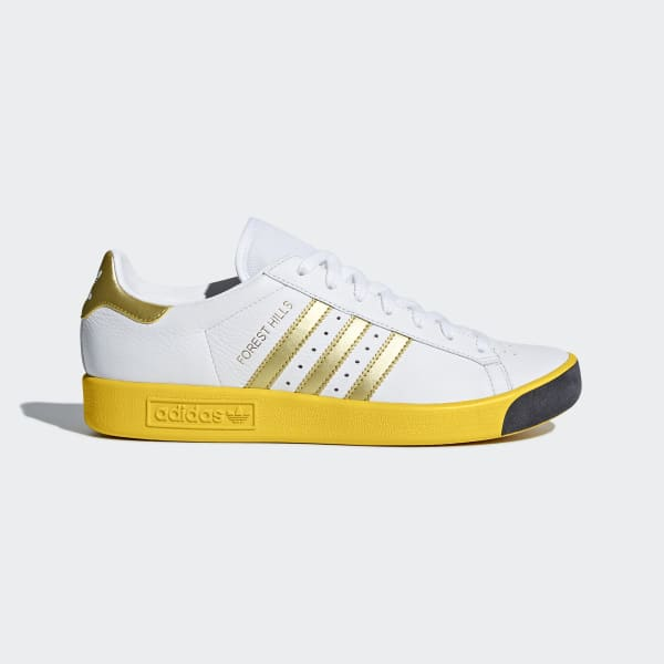Tenis Forest Hills FTWR WHITE/GOLD MET./EQT YELLOW S16 CQ2083