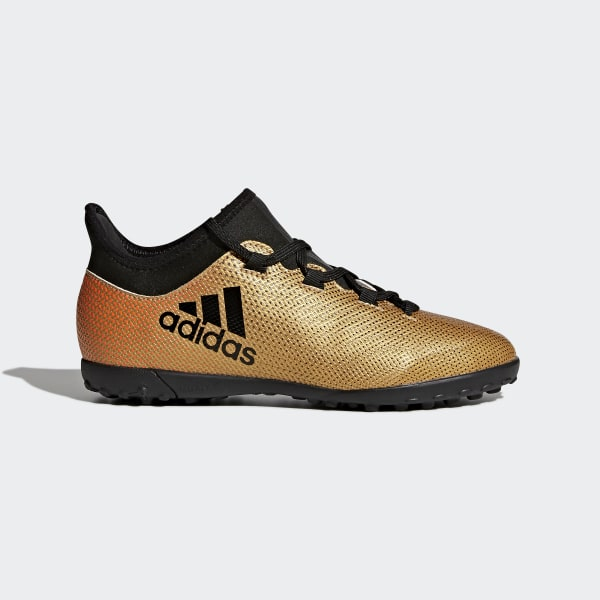 X Tango 17.3 Turf Boots Gold CP9024