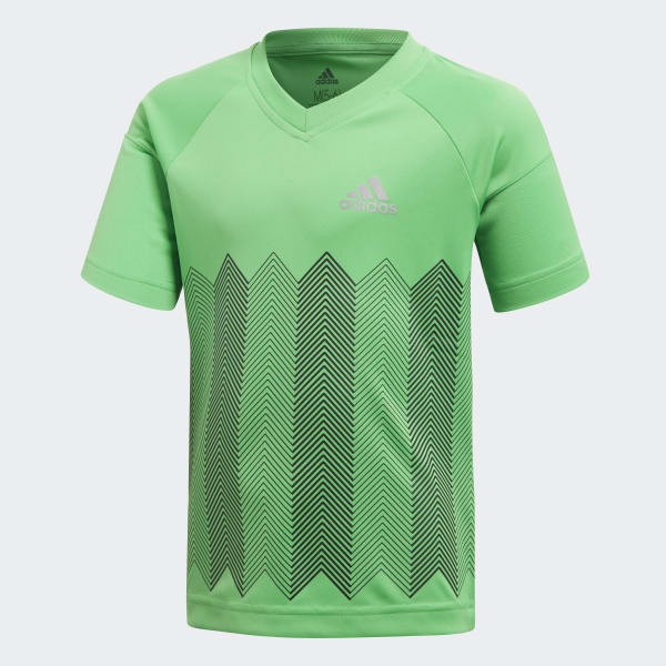 Football T-Shirt grün DJ1476