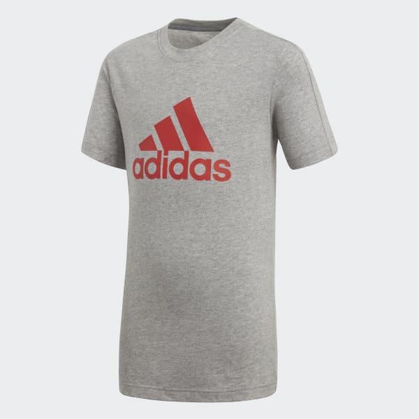 Camiseta Essentials Logo Gris CF6509