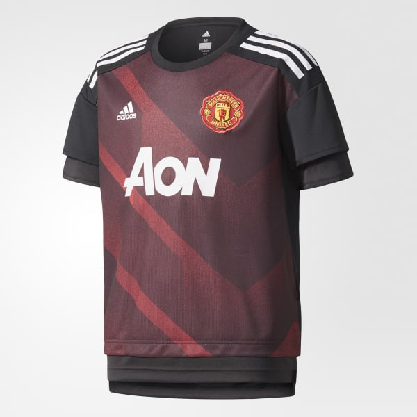 Manchester United Home Authentic Pre-Game Jersey Red BS2594