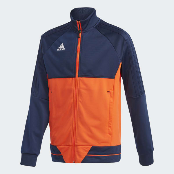 Tiro 17 Trainingsjacke blau BQ2614