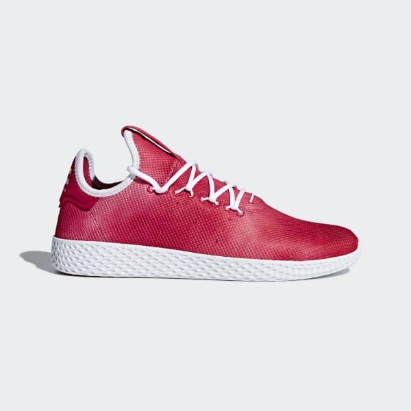 Pharrell Williams Tennis HU Schuh rot DA9615
