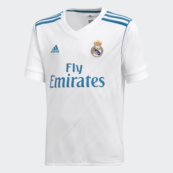 Maglia Home Real Madrid Bianco B31111