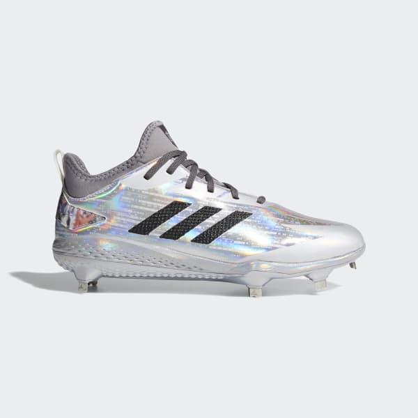 Adizero Afterburner V x Topps Cleats Silver DA9423