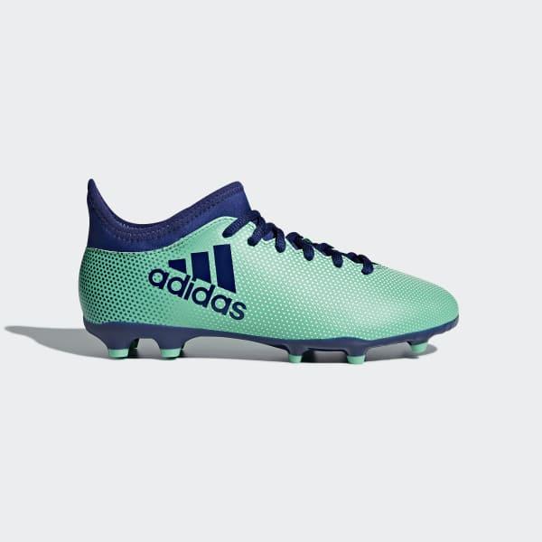 Zapatos de Fútbol X 17.3 Terreno Firme Verde CP8993