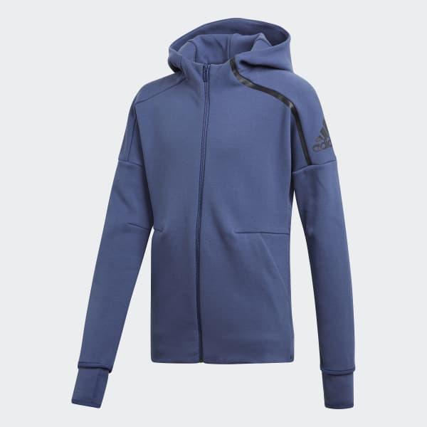 adidas Z.N.E. 2.0 Hoodie blau CF6685