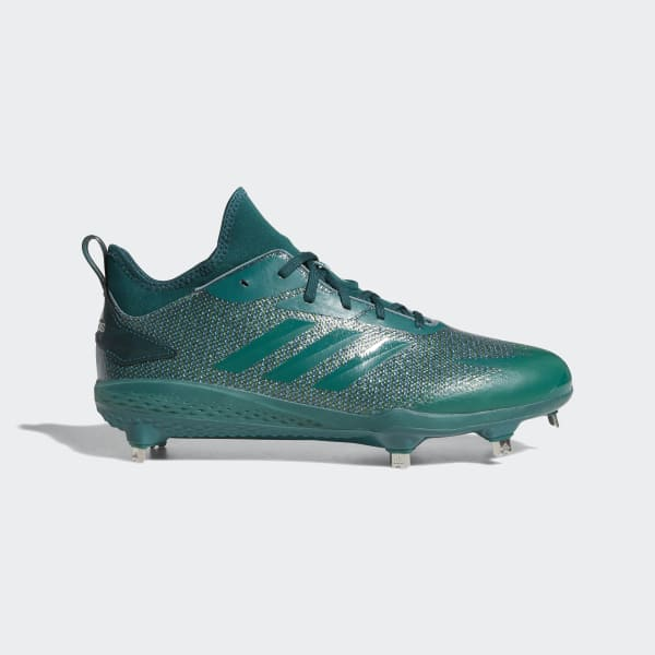 Adizero Afterburner V Dipped Cleats Green AQ0094