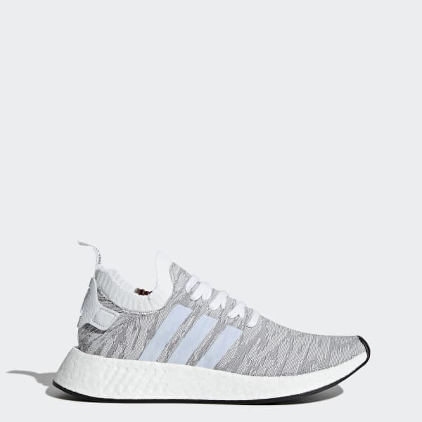 NMD_R2 Primeknit Shoes White BY9410