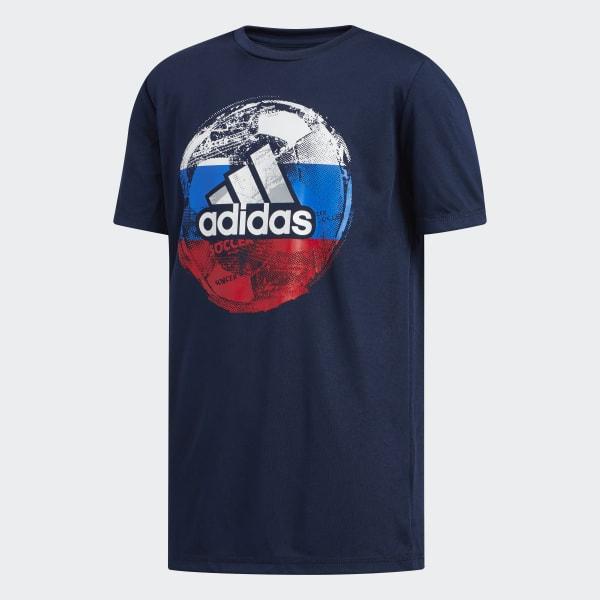 Soccer Tee Blue CK1214