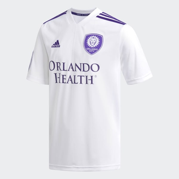 Orlando City Away Replica Jersey White D98985