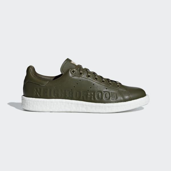 NEIGHBORHOOD Stan Smith Boost Shoes Grey B37342