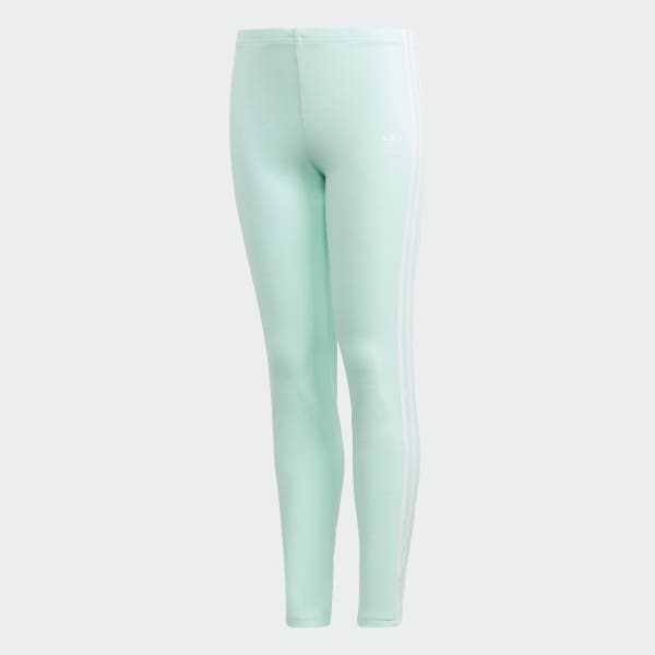 Legging 3-Stripes turquois DH2662