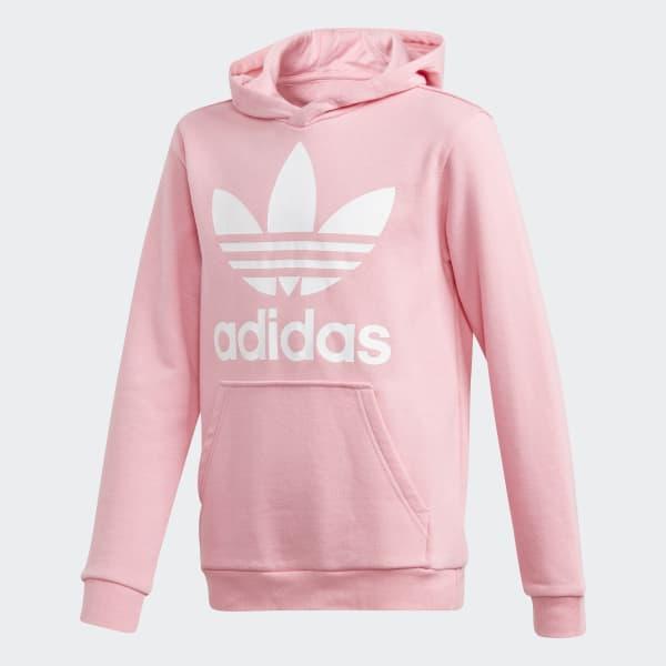 Trefoil Hoodie roze DJ2167