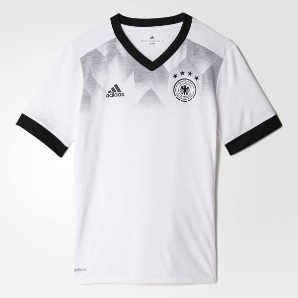 Maglia Home Pre-Match Germany Bianco BP9163