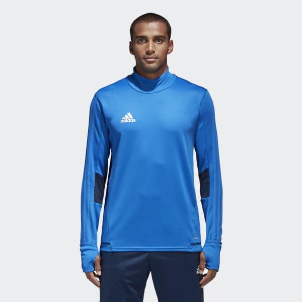 Camiseta manga larga entrenamiento Tiro 17 Azul BQ2735