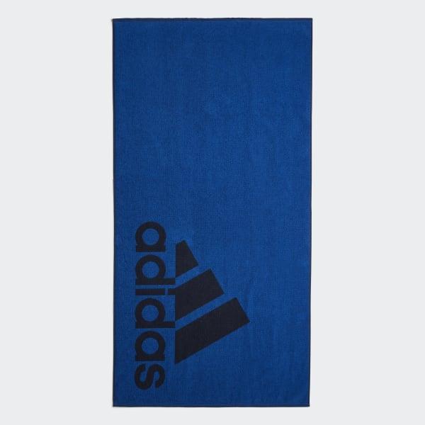 adidas Handdoek Large blauw DH2868