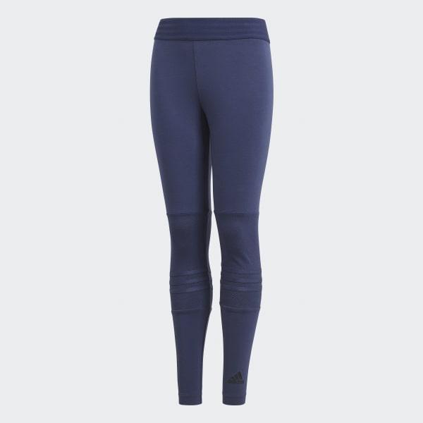 ID Mesh 3-Stripes Legging blauw CF6758