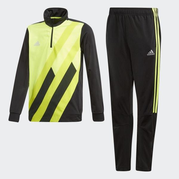 X Tiro Track Suit Yellow DI0188