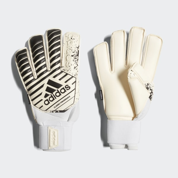 Classic Fingersave Gloves White CW5614
