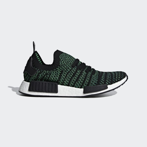 NMD_R1 STLT Primeknit Shoes Black AQ0936