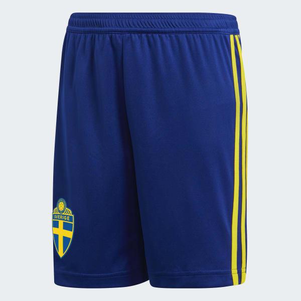 Pantalón corto primera equipación Suecia Azul BR3828