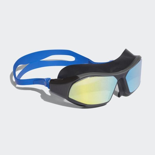 Occhialini da nuoto adidas persistar 180 mask mirrored Blu BR5808