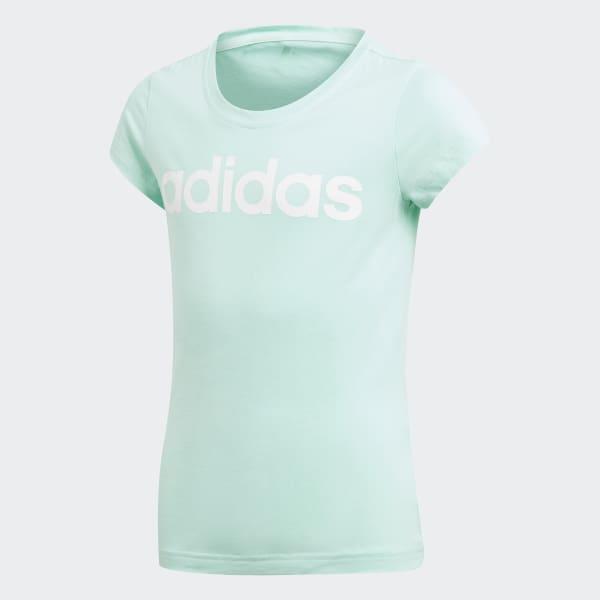 T-shirt Essentials Linear Turchese DJ1334