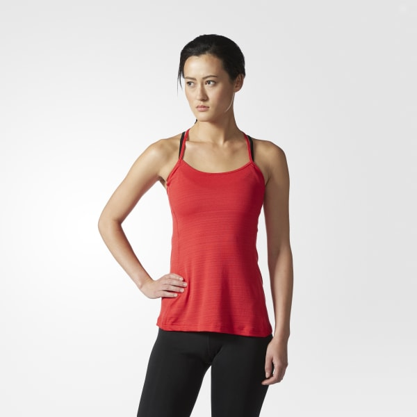 Fashion Tank Top Red S97617