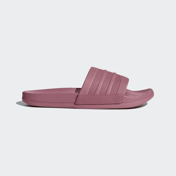 Adilette Cloudfoam Plus Mono Slippers rood B42205