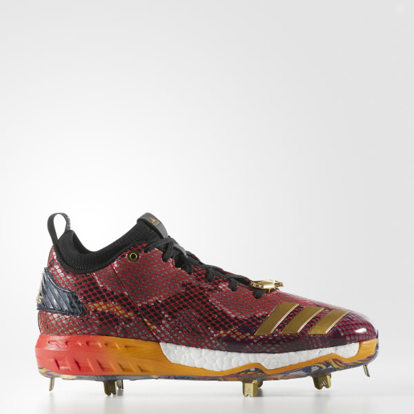 Boost Icon 3 Atlanta Cleats Red CG4856
