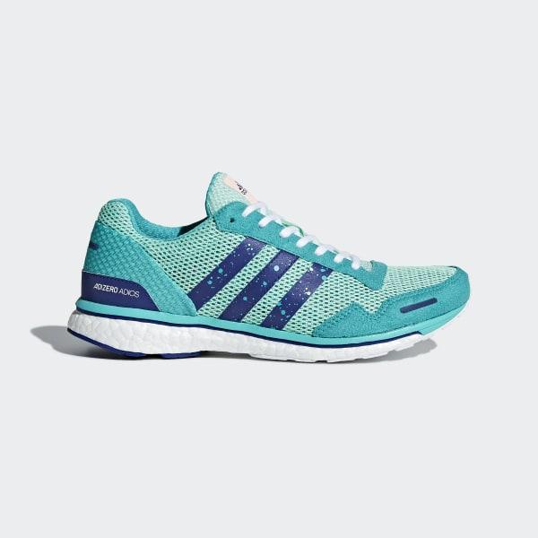 Adizero Adios 3 Shoes Turquoise CM8361