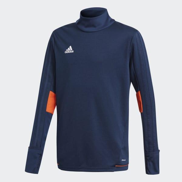 Tiro17 Trainingsshirt blau BQ2762