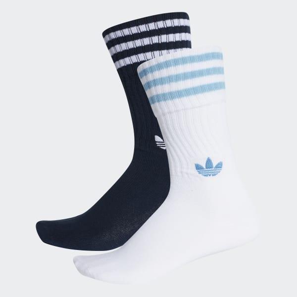 Solid Sokken 2 Paar blauw DH3363