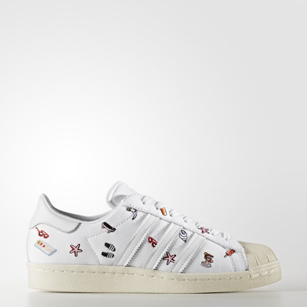 Chaussure Superstar 80s blanc BZ0650