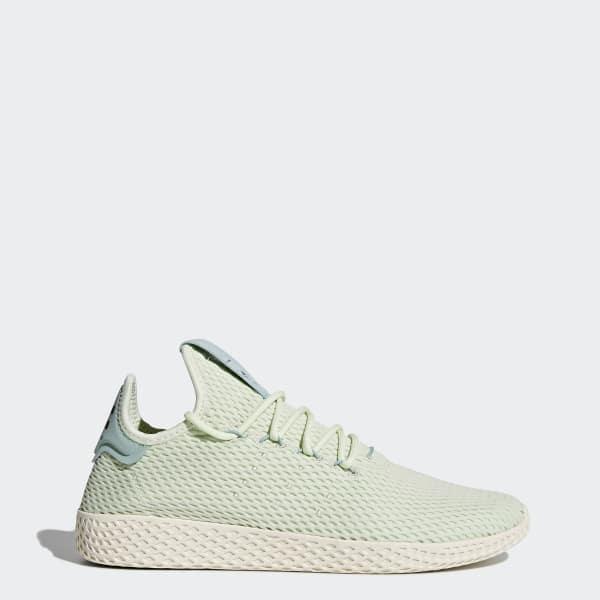 Pharrell Williams Tennis Hu Shoes Green CP9765