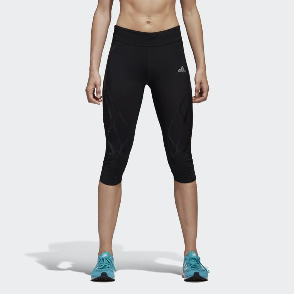Tight 3/4 adizero Sprintweb Nero S99701