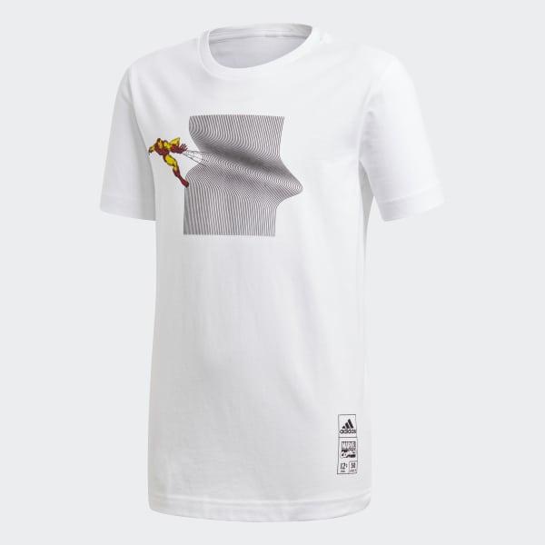 T-shirt Marvel Iron Man Bianco DM7769