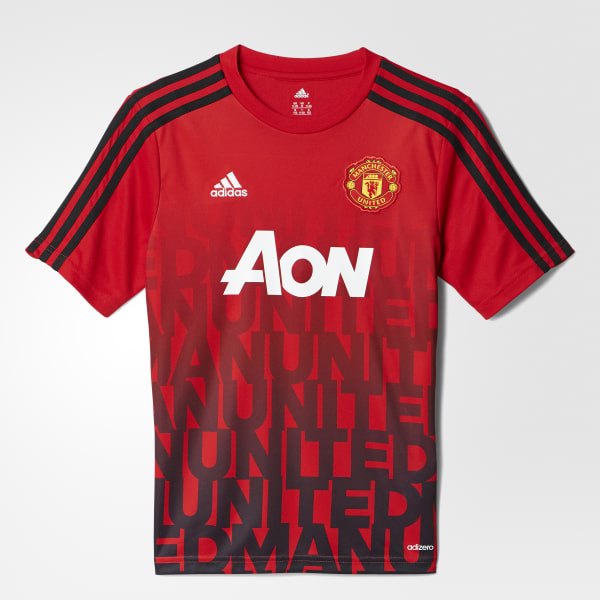 Manchester United FC Home Pre-Match Shirt Red AH6247
