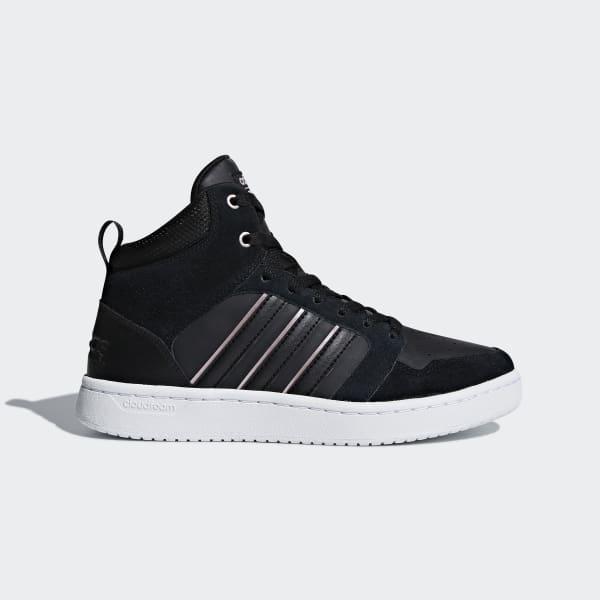 Cloudfoam Super Hoops Mid Shoes Black DB0307