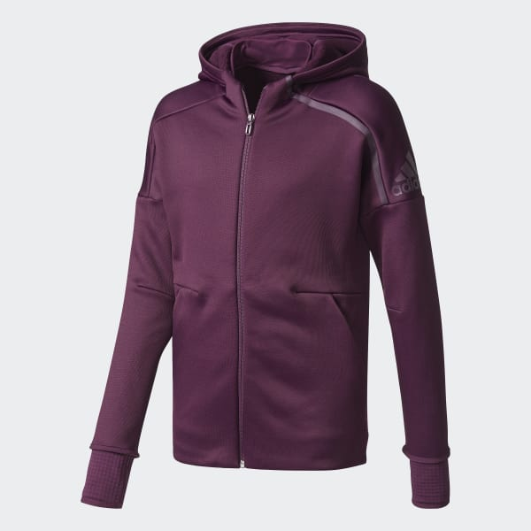 adidas Z.N.E. Climaheat Hoodie Purple CF0864