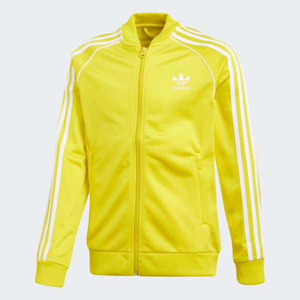 SST Track Jacket Yellow CF8552