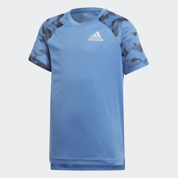 Training Run T-shirt blauw CF7143