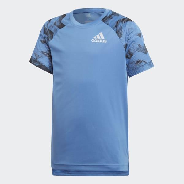 Training Run Tee Blue CF7143