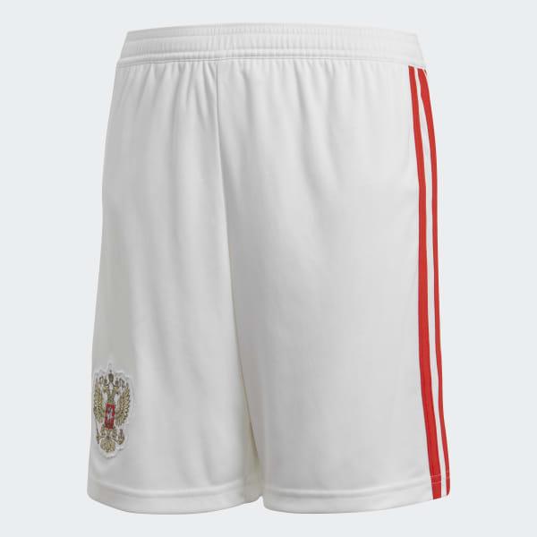 Pantalón corto primera equipación Rusia Blanco BR9061