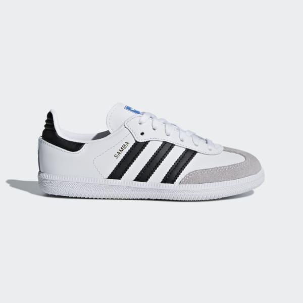 Chaussure Samba OG blanc BB6975