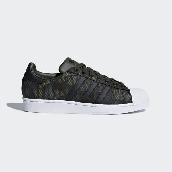 Superstar Schuh grün CM8071