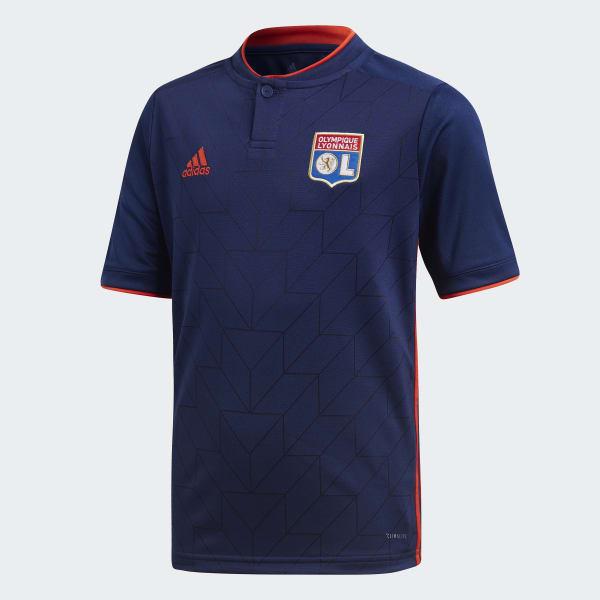 Olympique Lyon Auswärtstrikot blau CF9150