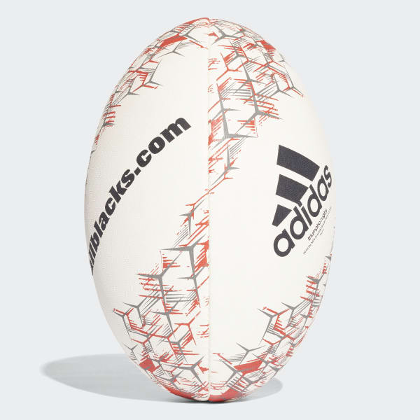 All Blacks Rugbyball weiß CF6475