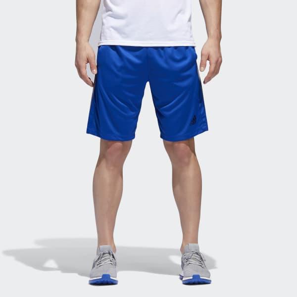 Pantaloneta D2M 3 Rayas Azul BR1465